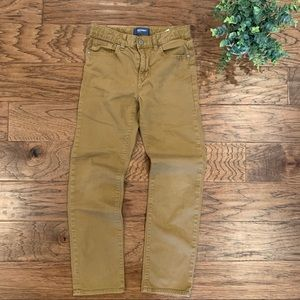 Old Navy Karate Pants In Dark Tan Boys 12 reg